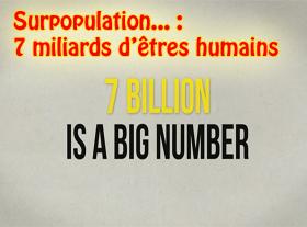 Surpopulation : 7 milliards d