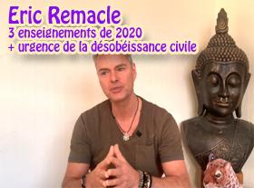Eric Remacle - Covid-19 : 3 enseignements de 2020 + urgence de la désobéissance civile